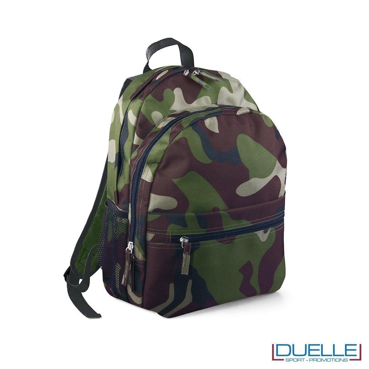 zaino personalizzato militare, zaino per lo sport e il tempo libero camouflage - zaino economico personalizzato