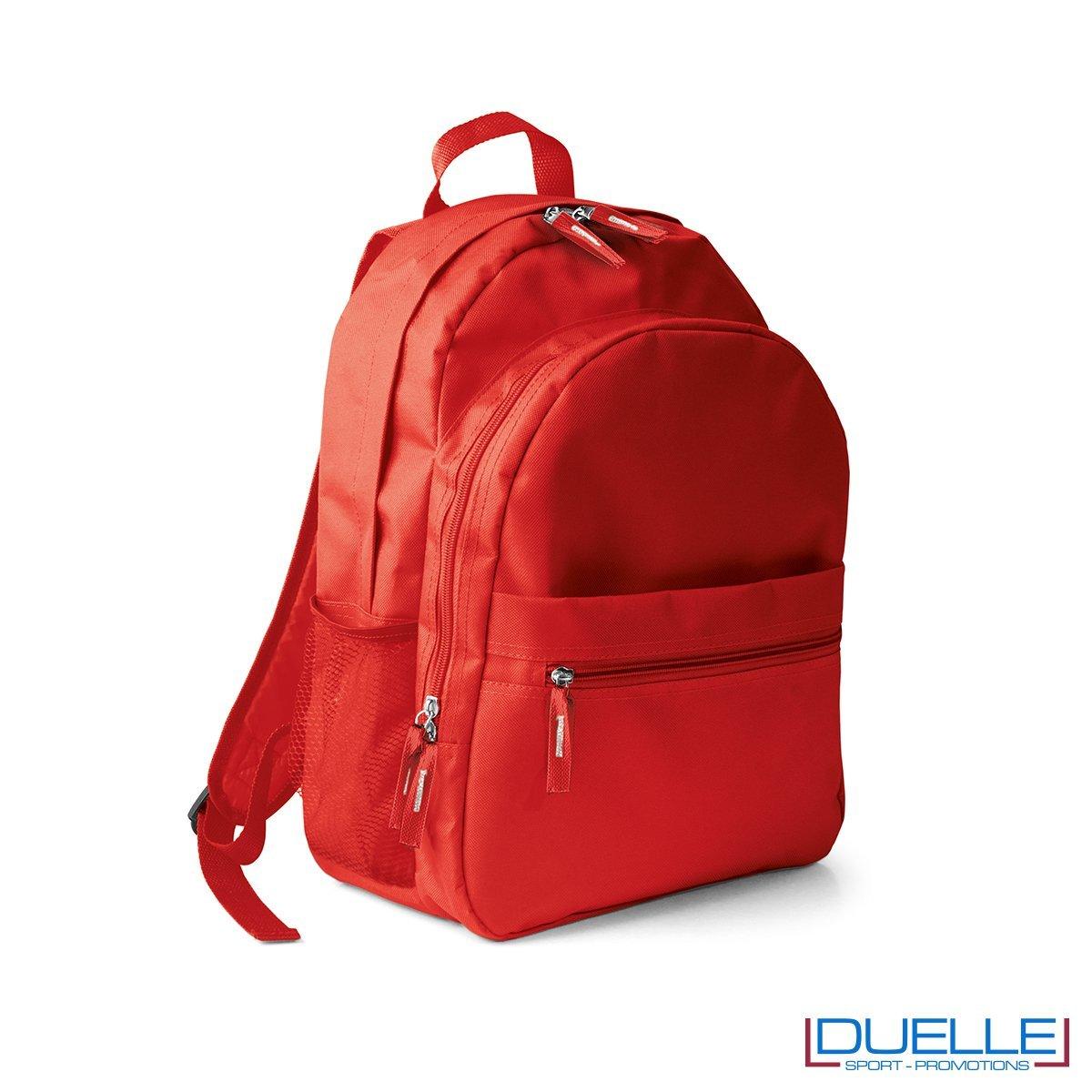 zaino personalizzato, zaino per lo sport e il tempo libero - zaino economico personalizzato rosso