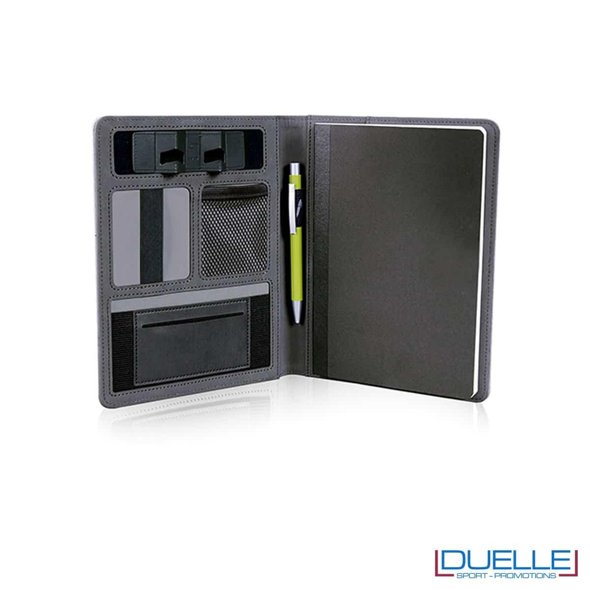 Porta documenti personalizzabile con multi tasche interne