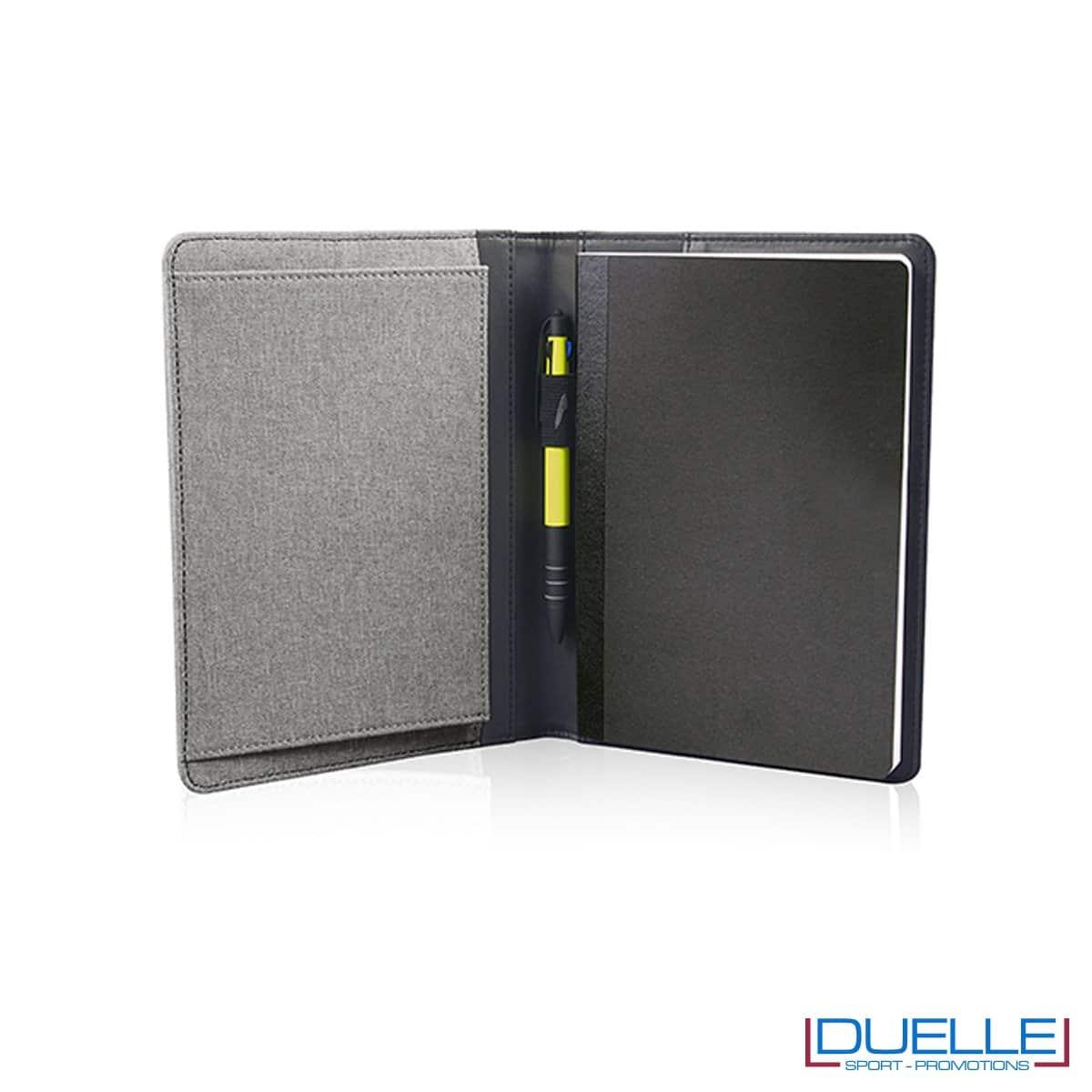 Porta documenti personalizzabile con tasca elasticizzata