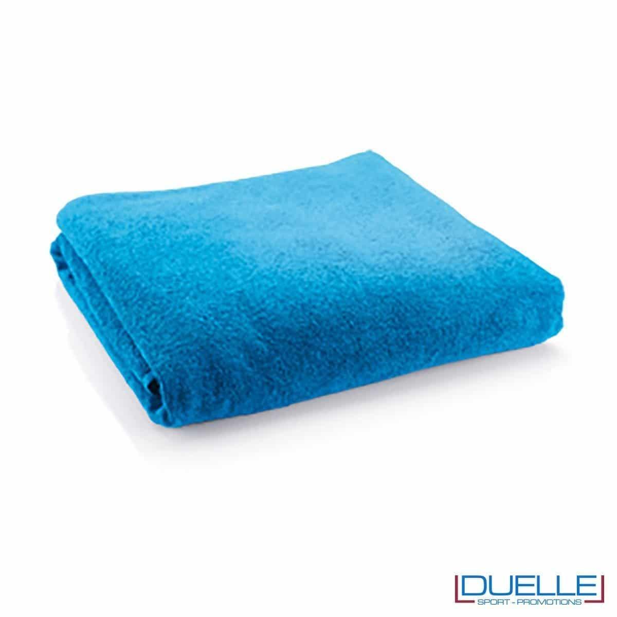 telo personalizzato cotone bilu royal, gadget mare, gadget personalizzato blu royal