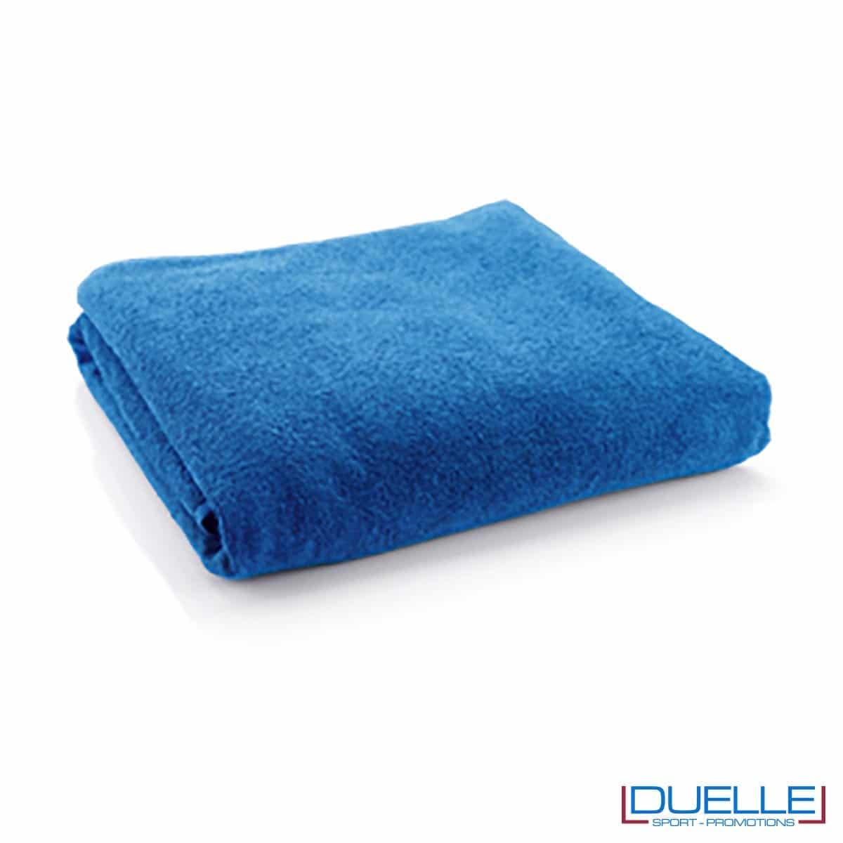 telo mare personalizzato cotone blu oltremare, gadget estate