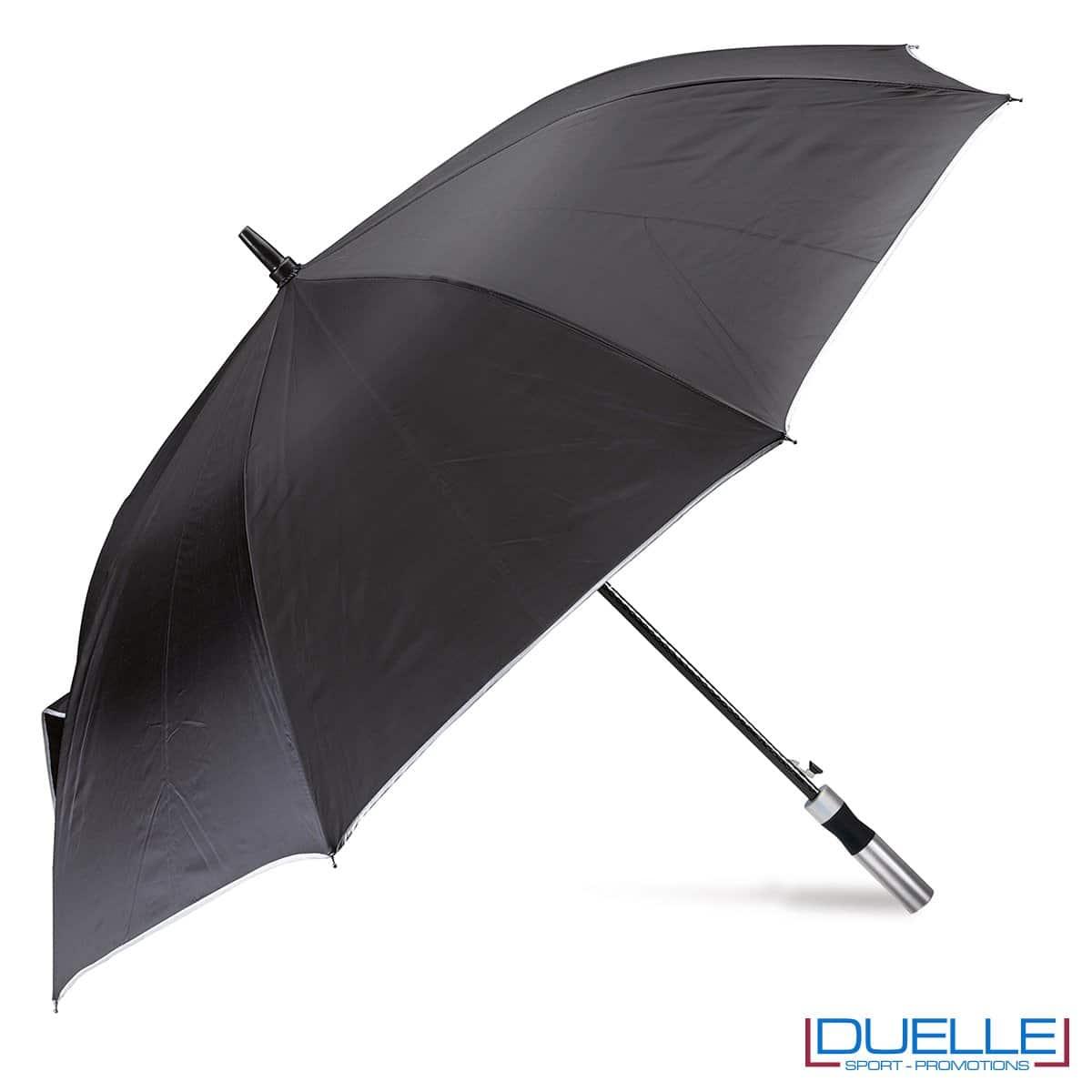 ombrello personalizzato ultraleggero nero , ombrello personalizzato
