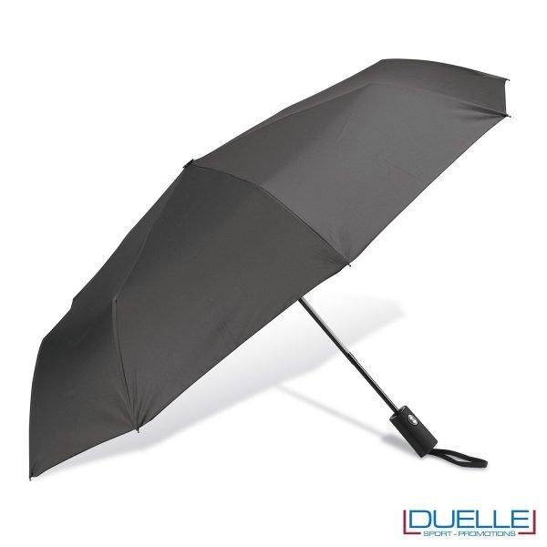 ombrello mini personalizzato automatico colore grigio, ombrello personalizzato