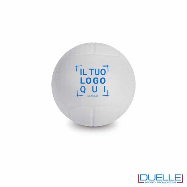 antistress personalizzato a forma di pallone da pallavolo, gadget sportivi personalizzati