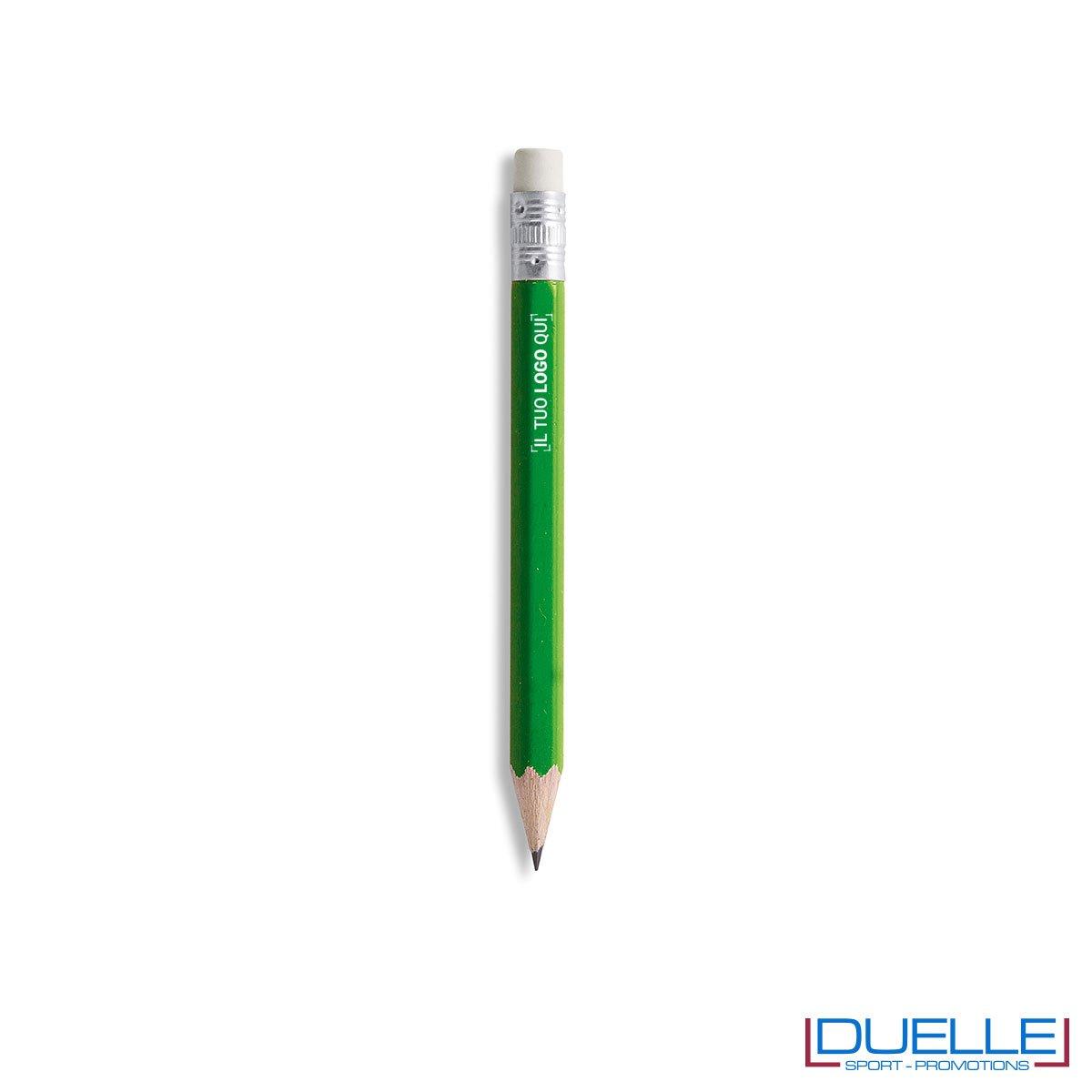 matita personalizzabile verde, matita corta promozionale,prodotti da scrivania,100% Eco Friendly