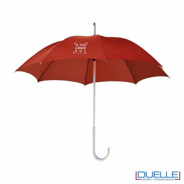 """Ombrello in alluminio 23"""" leggerissimo e resistente. Soli 370gr. Manico, puntale e asta in alluminio. Apertura Manuale"""