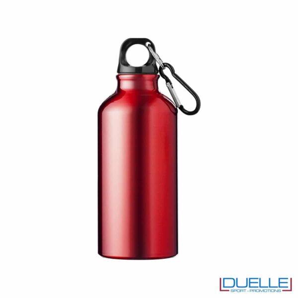 borraccia personalizzata in alluminio rosso