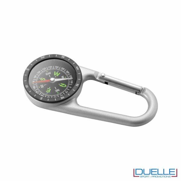 bussola personalizzata in metallo, gadget montagna personalizzata