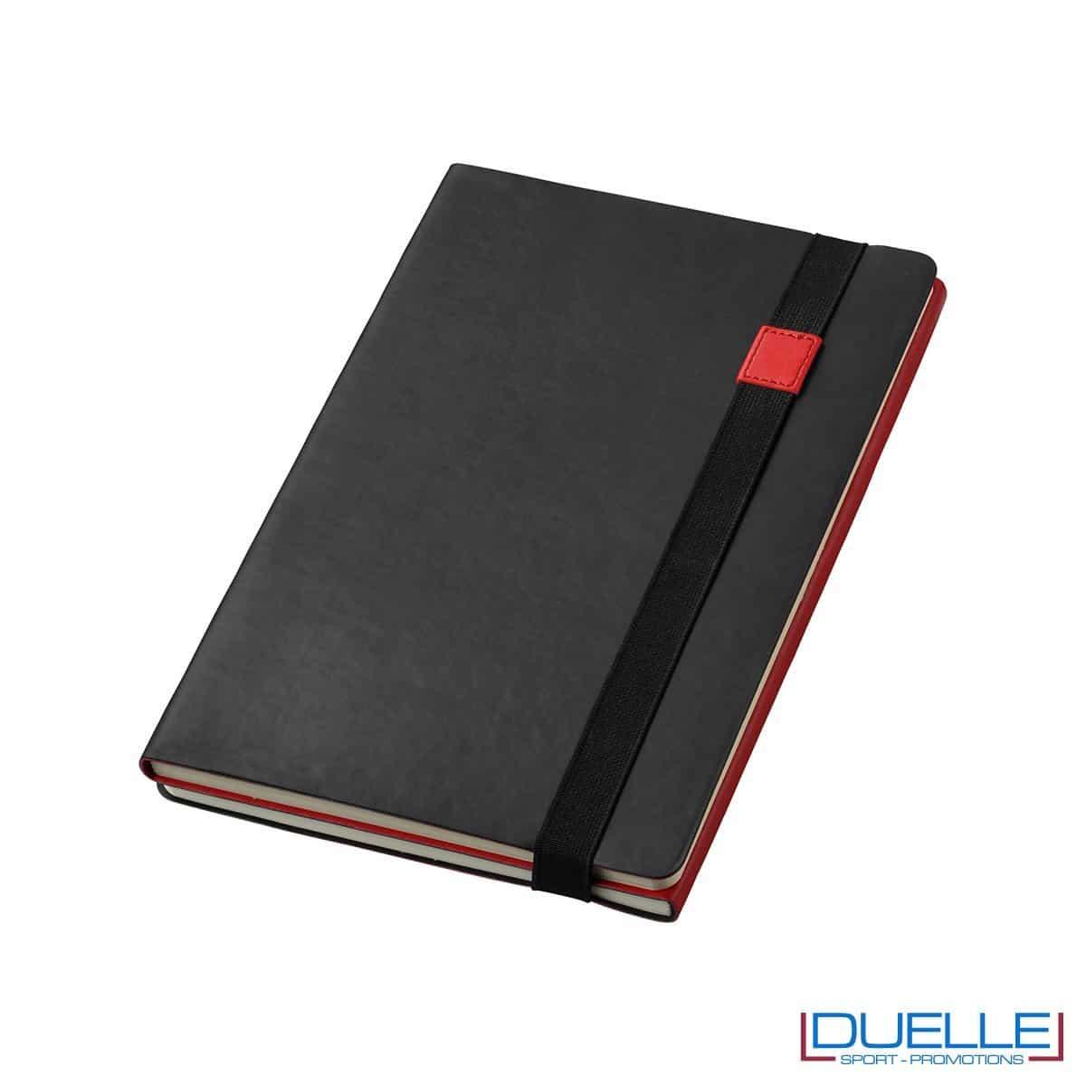 blocco per appunti personalizzato 2 in 1 colore rosso e nero, blocchi per appunti personalizzabili 2 in 1