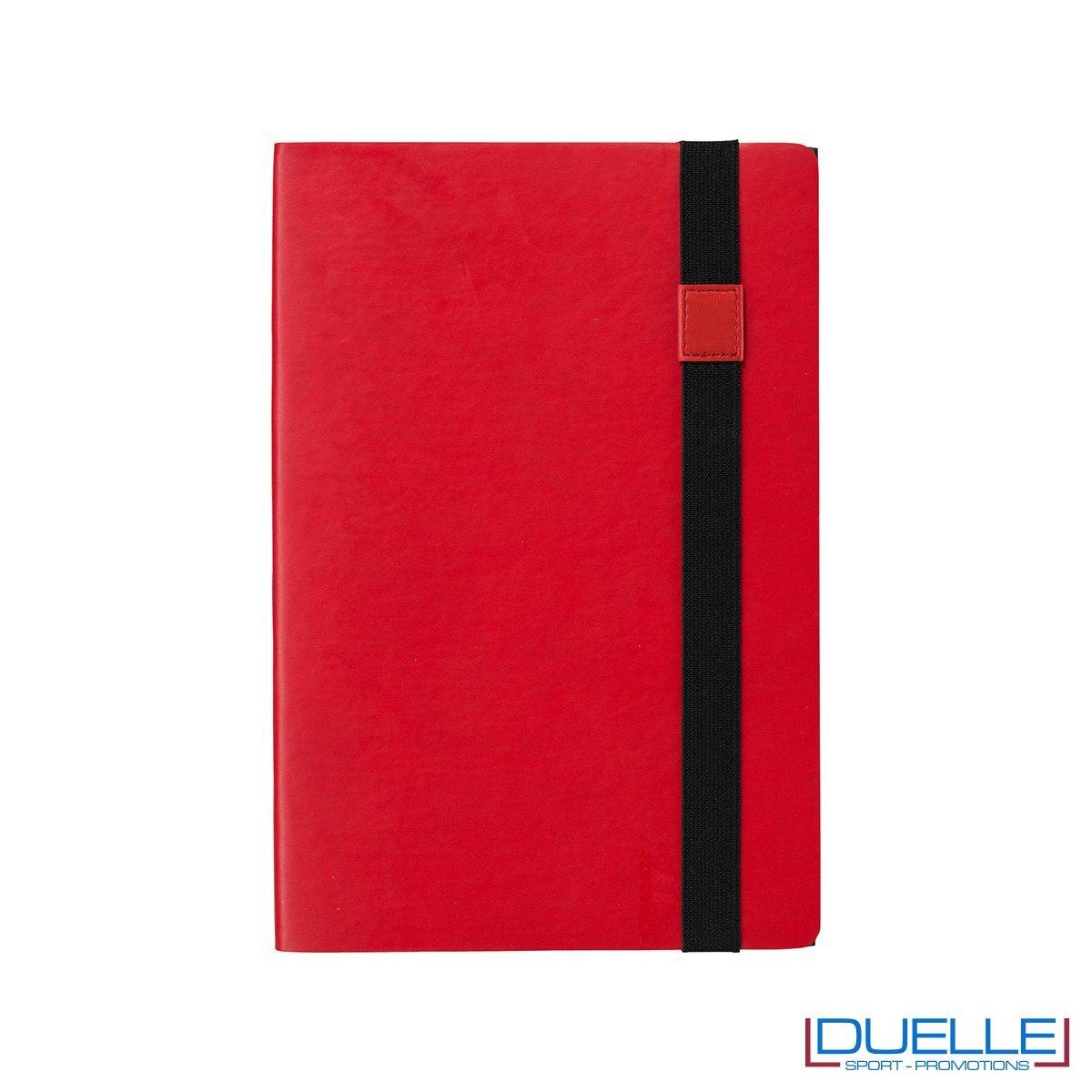 blocco appunti personalizzabile colore rosso e nero JOURNALBOOKS 2 in 1