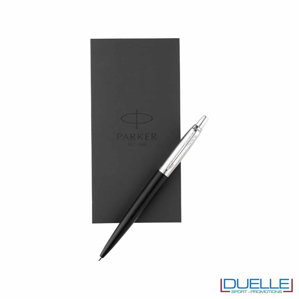 Set penne Parker personalizzate con blocco