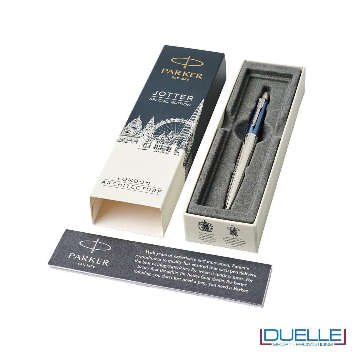 Penna Jotter personalizzata edizione limitata colore azzurro