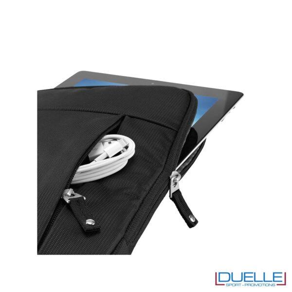 custodia ipad personalizzata CASE LOGIC foto aperta, gadget tablet personalizzati
