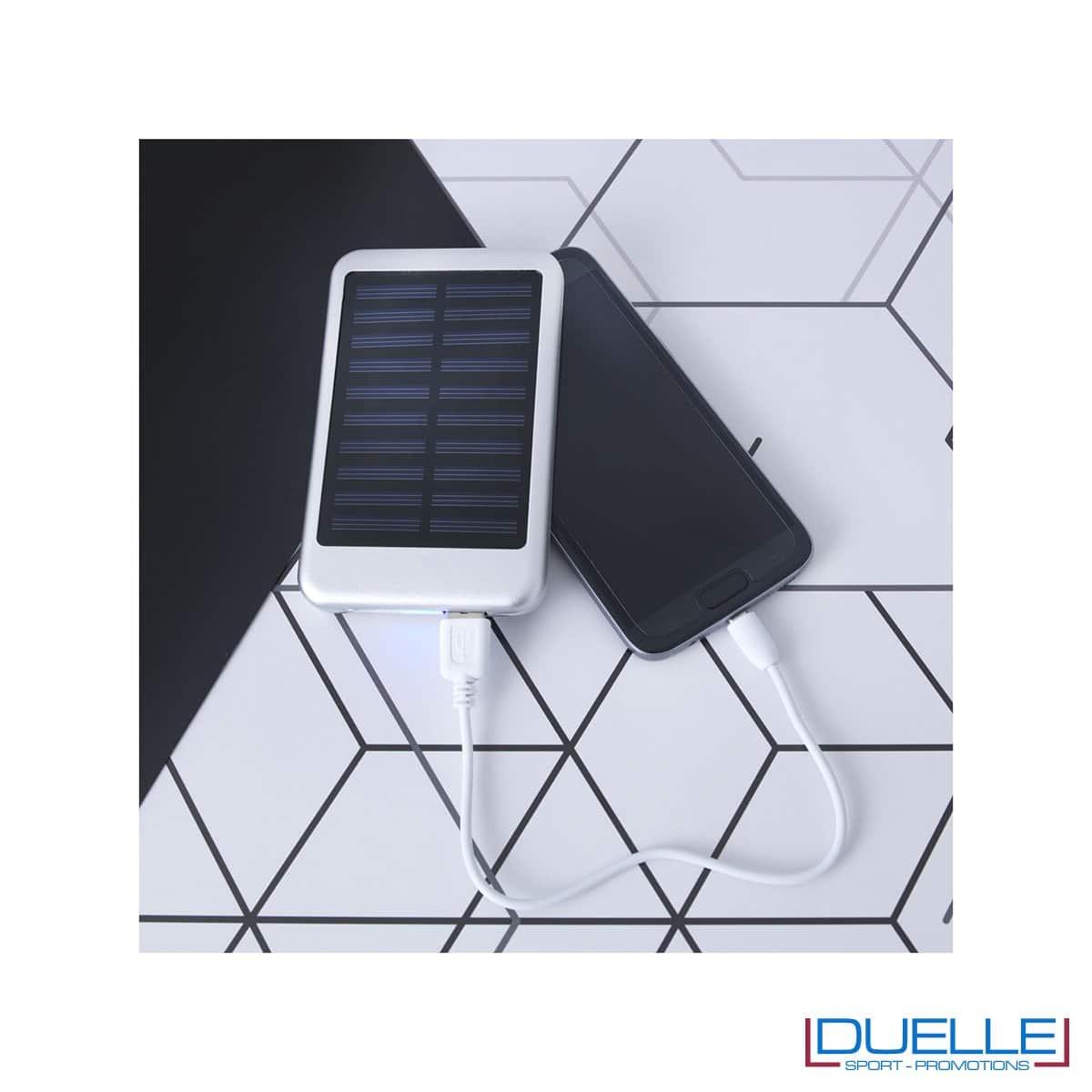 Powerbank solare personalizzato