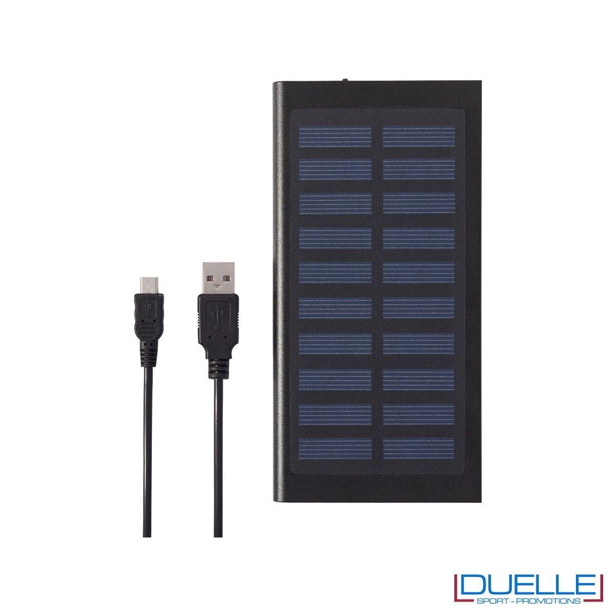 Powerbank personalizzabile pannelli solari