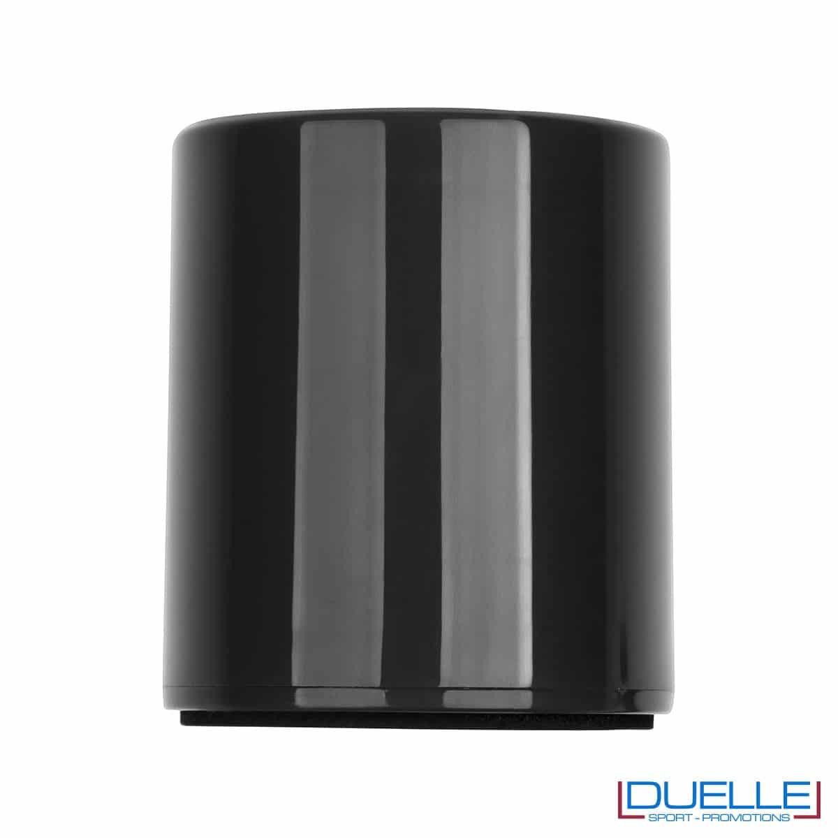 Cassa bluetooth personalizzata colore nero con stampa