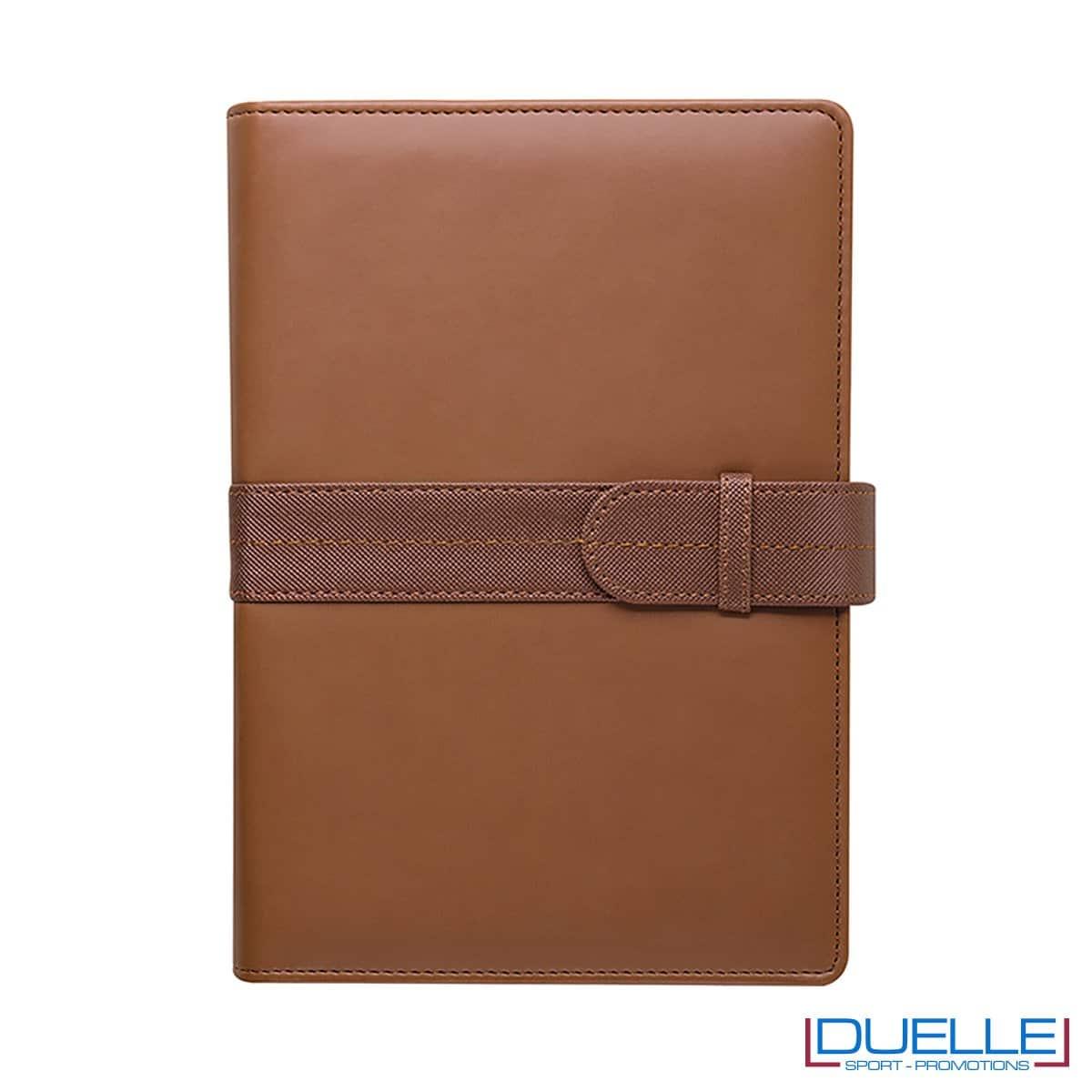 Agenda personalizzata portafoglio giornaliera colore cuoio