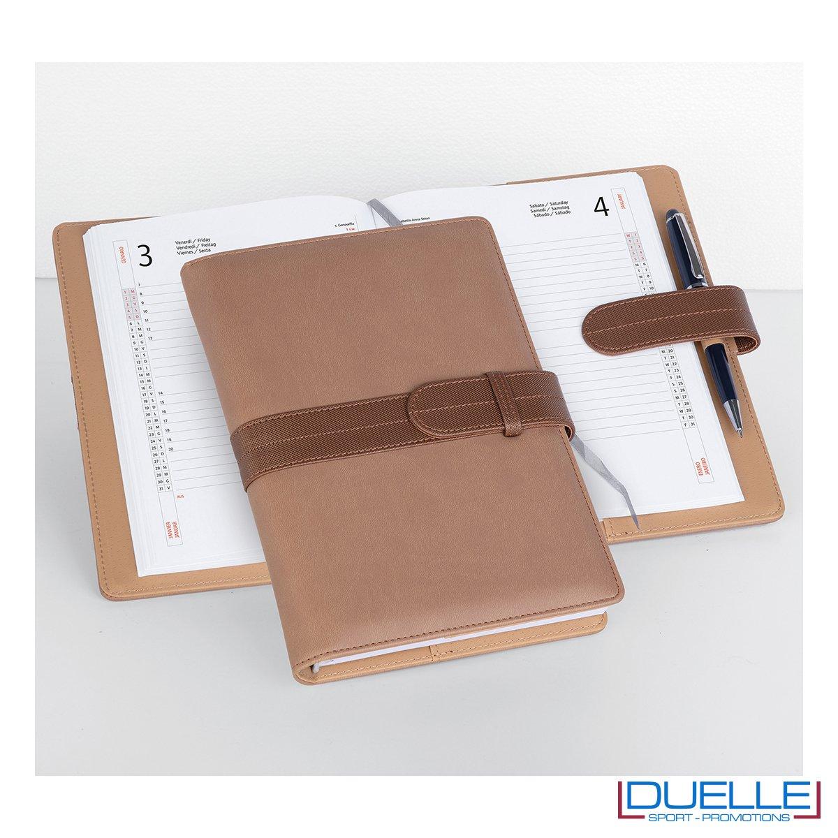 Agenda personalizzata portafoglio giornaliera colore beige