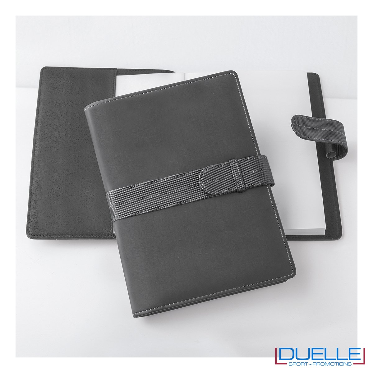 Agenda personalizzata portafoglio giornaliera colore grigio