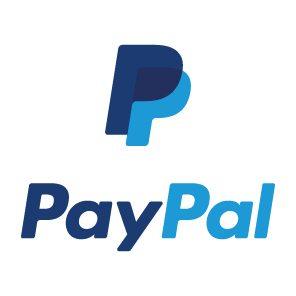 logo paypal per rimarcare che la nostra azienda accetta i pagamenti con carta di credito e con paypal