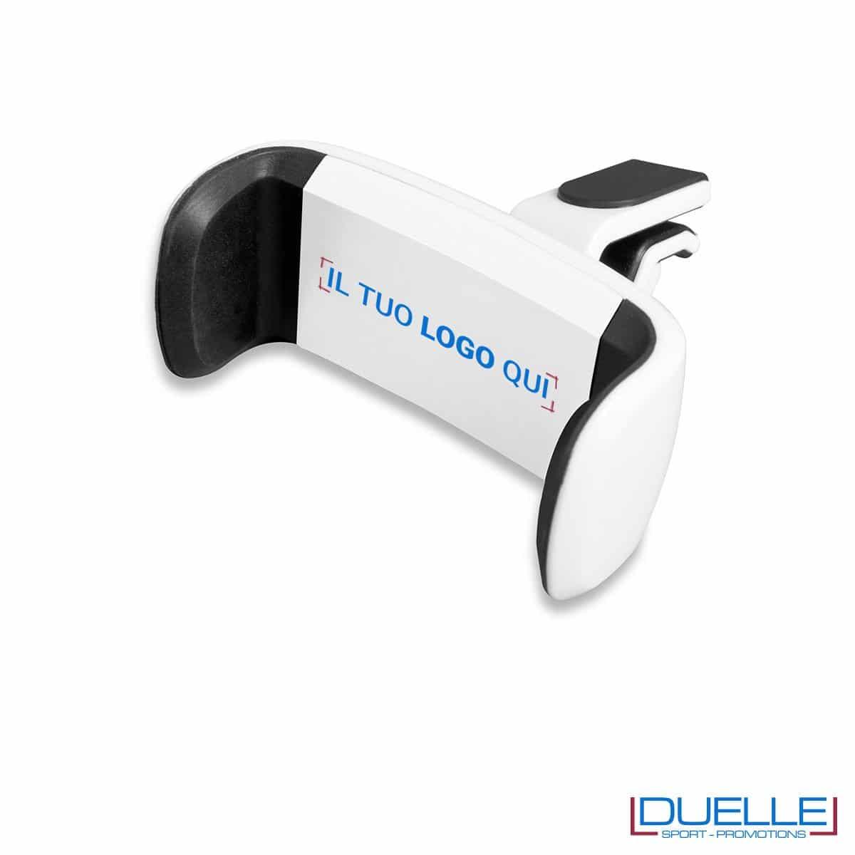 Supporto smartphone universale personalizzato bianco