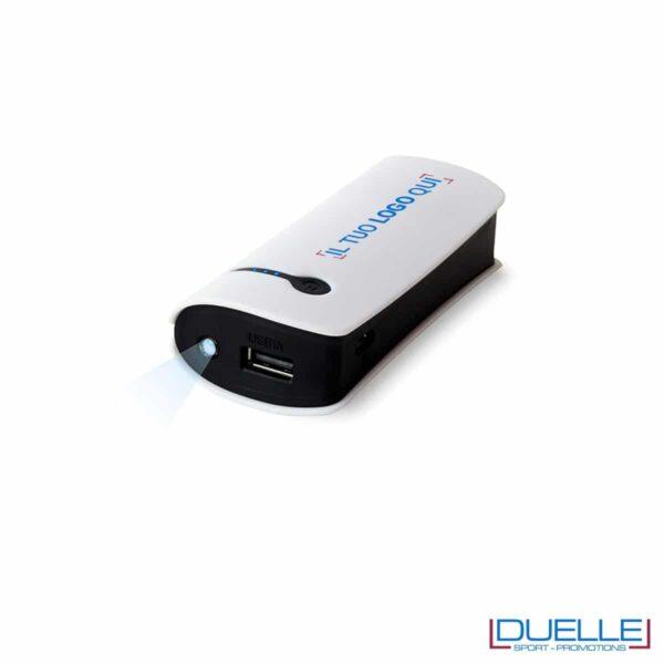 power bank personalizzato 3600 mAh, batterie portatili personalizzate