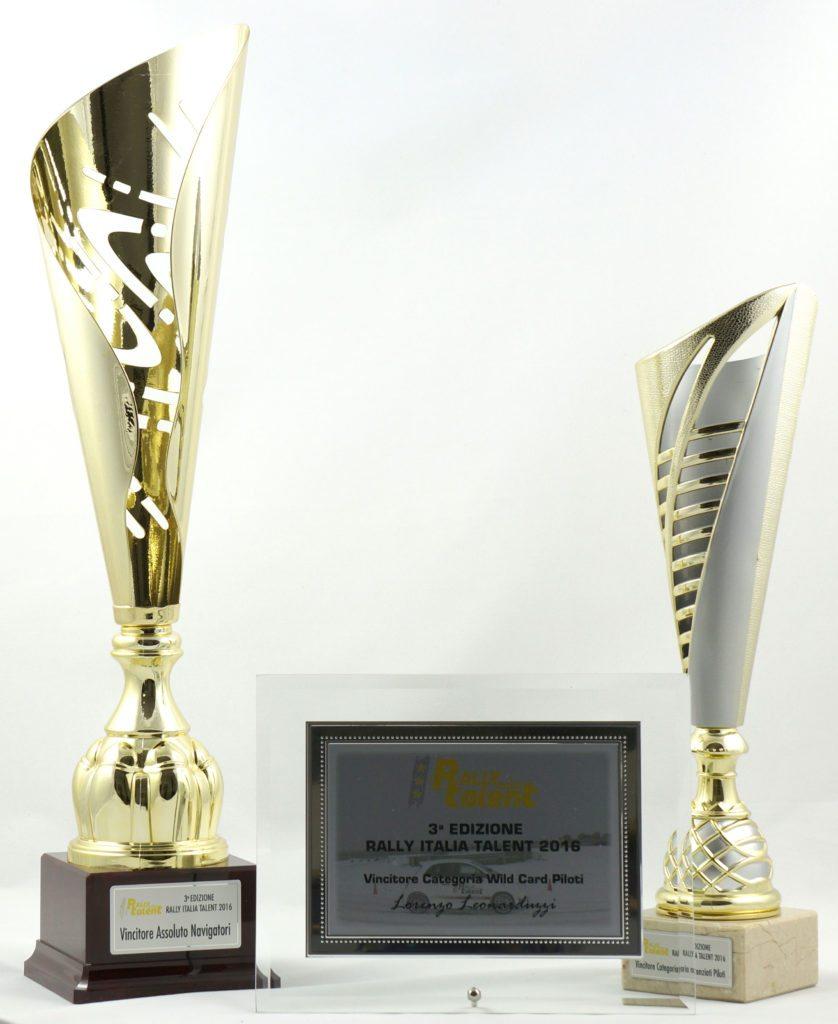 premiazioni rally italia talent, premiazioni sportive personalizzate