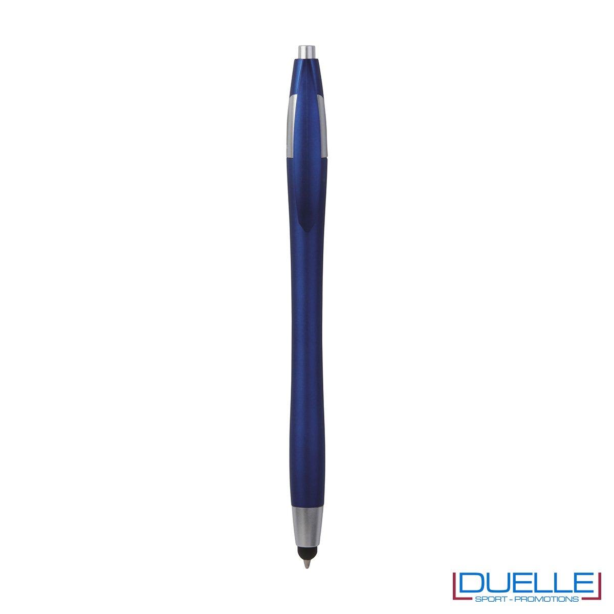 Penna touch screen a sfera in plastica . La chiusura è a scatto.