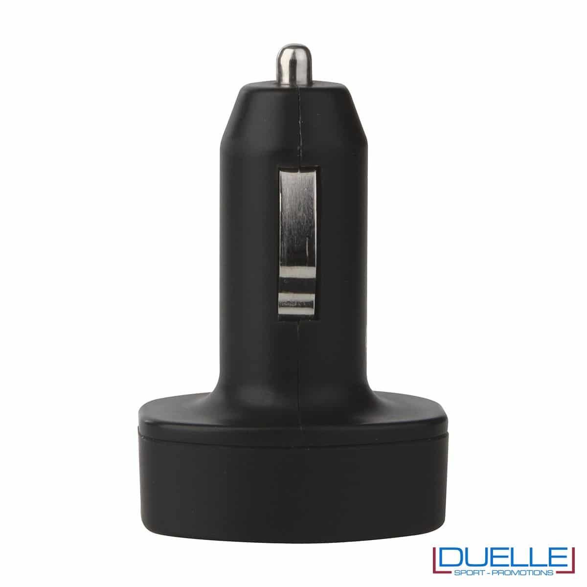 Carica batterie da auto iphone colore nero