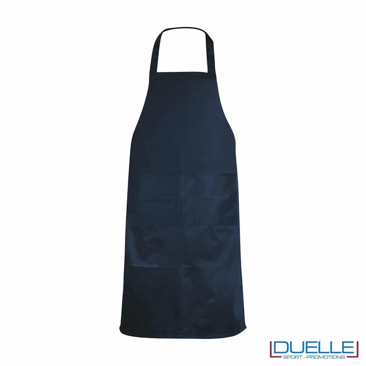 Grembiule da cucina personalizzato colore blu navy