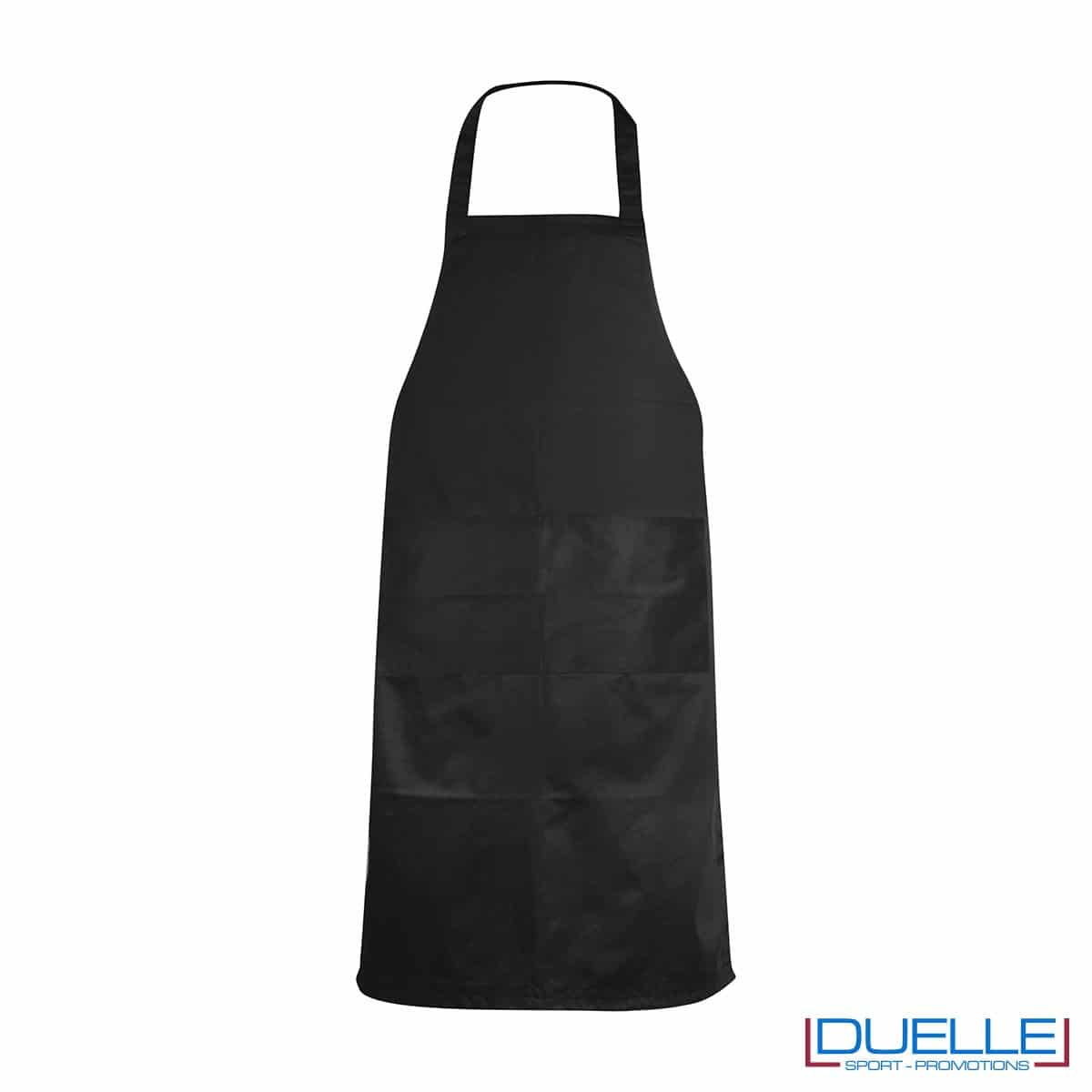 Grembiule da cucina personalizzato colore nero