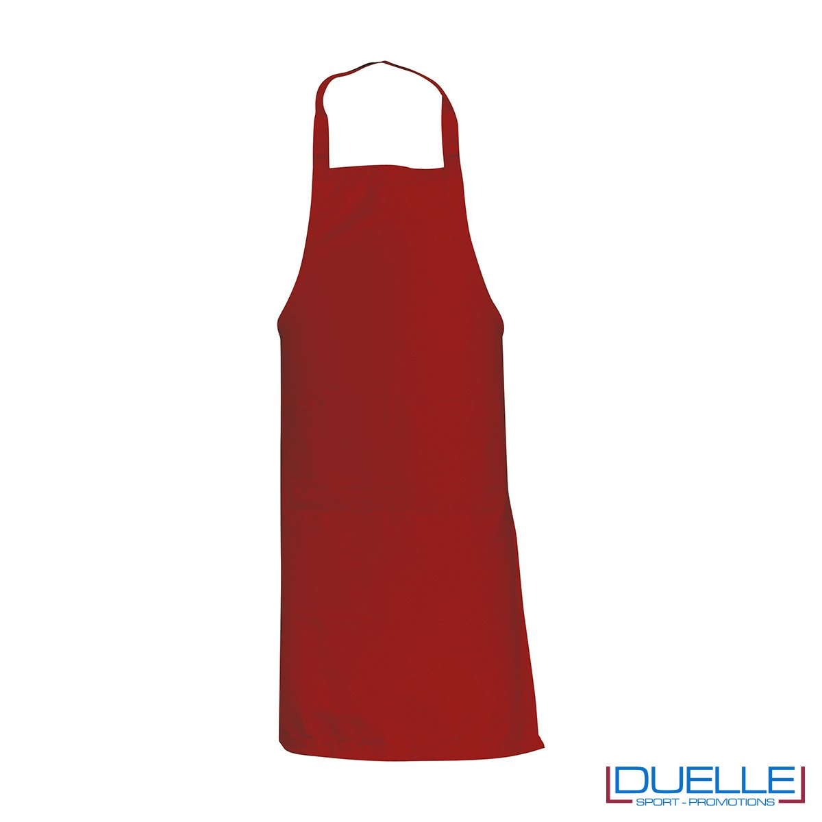 Grembiule da cucina personalizzato colore rosso