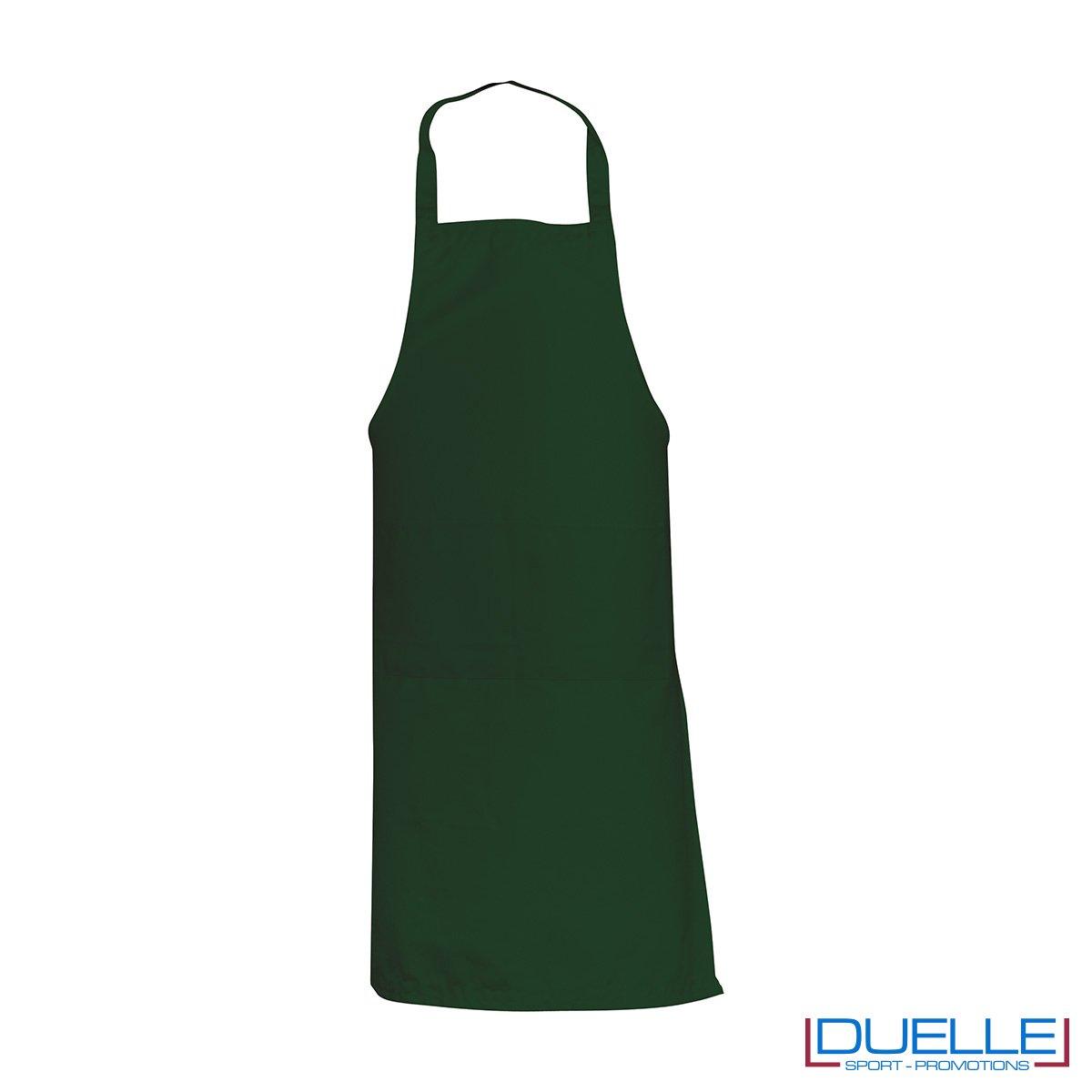 Grembiule da cucina personalizzato colore verde
