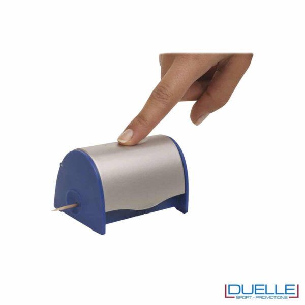Dispenser per stuzzicadenti personalizzabile a colori personalizzato a colori