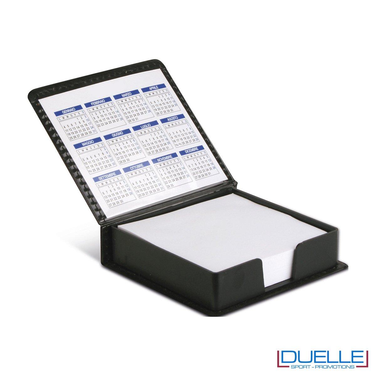 Blocco per appunti ufficio personalizzato, calendario ufficio personalizzato, set post-it personalizzati, gadget aziendali, gadget personalizzati