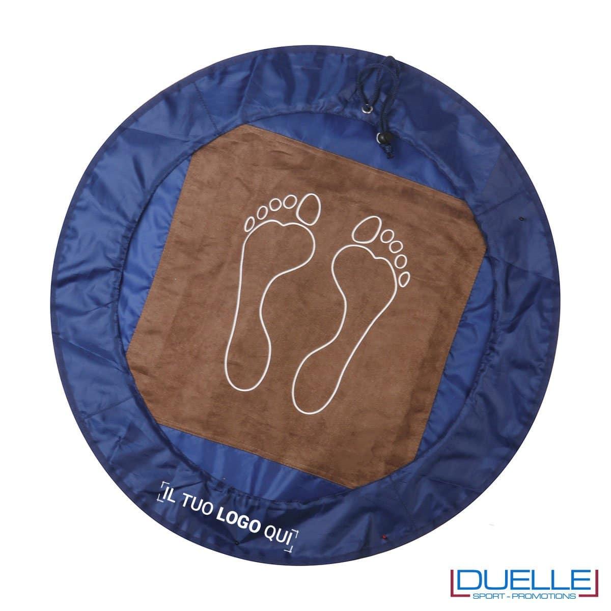 Sacco da cambio pratica colore blu personalizzata, borse sportive personalizzate, gadget sportivi