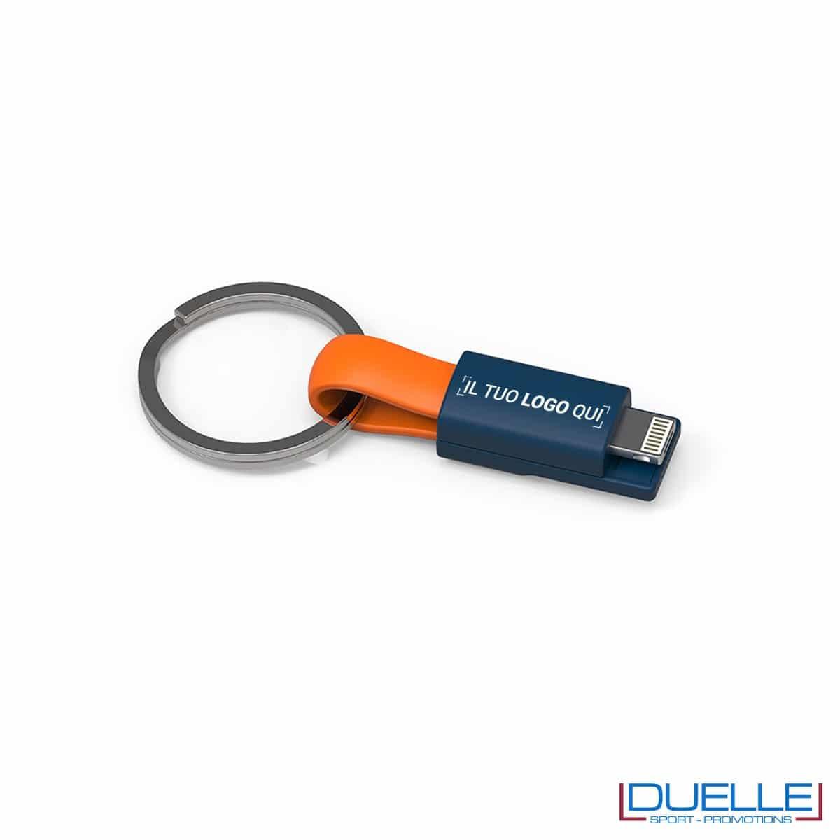 Cavo lighting e cavo micro USB personalizzati con porta chiavi online