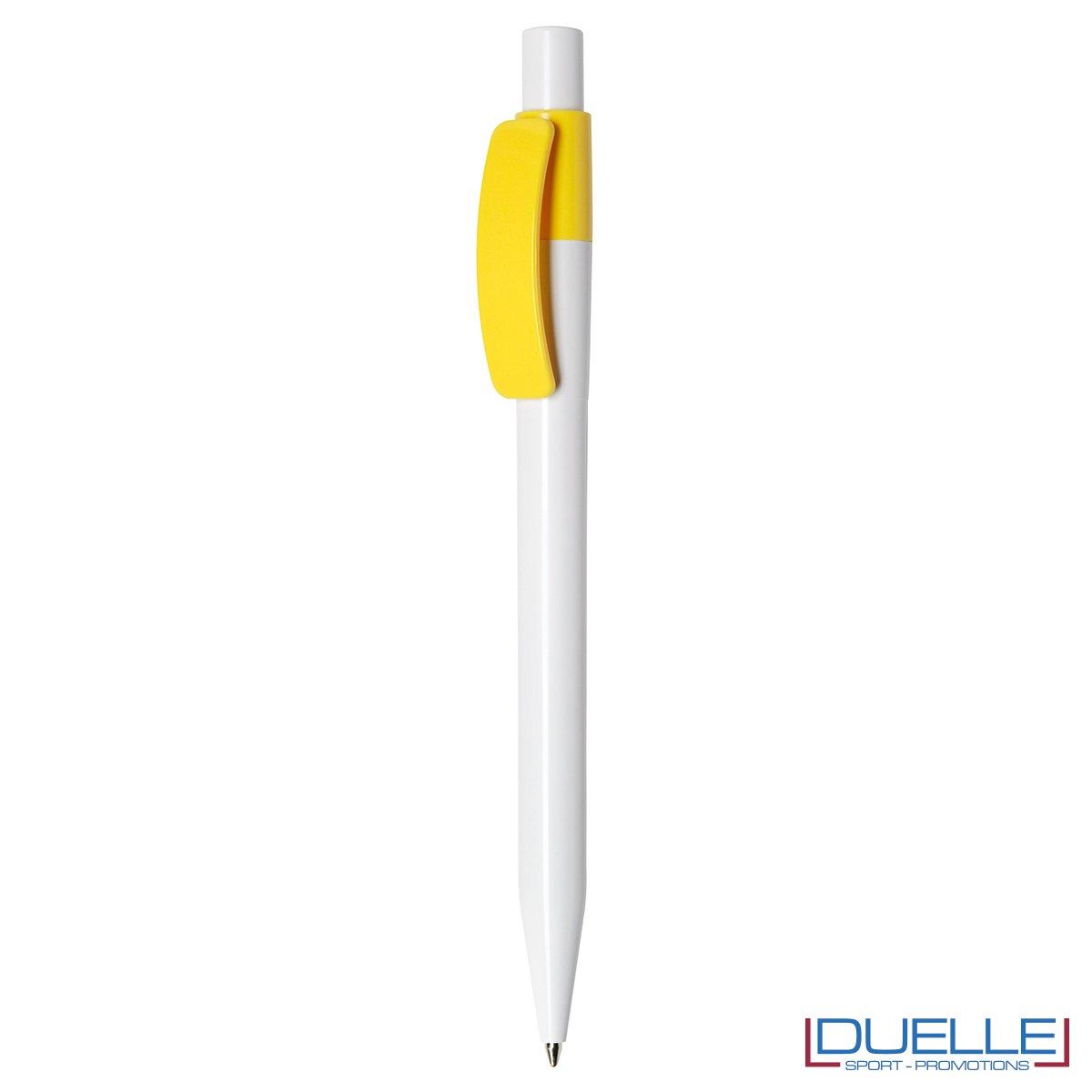 Penna Made in Italy personalizzata Giallo, gadget aziendali, penne personalizzate, gadget personalizzati, articoli promozionali