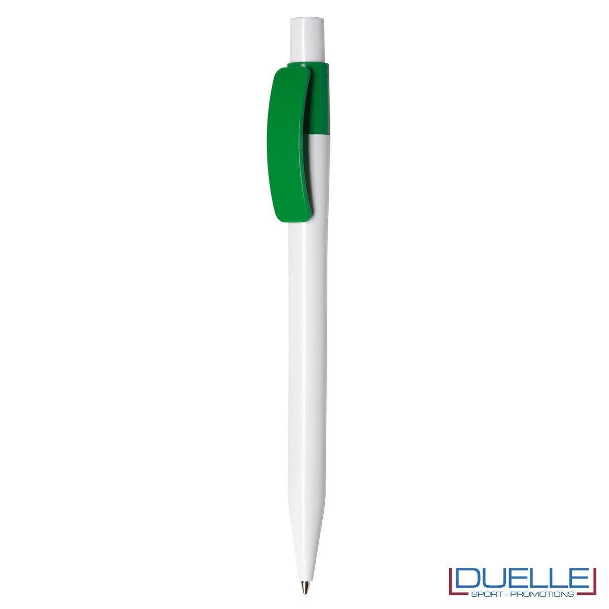 Penna Made in Italy personalizzata Verde, gadget aziendali, penne personalizzate, gadget personalizzati, articoli promozionali