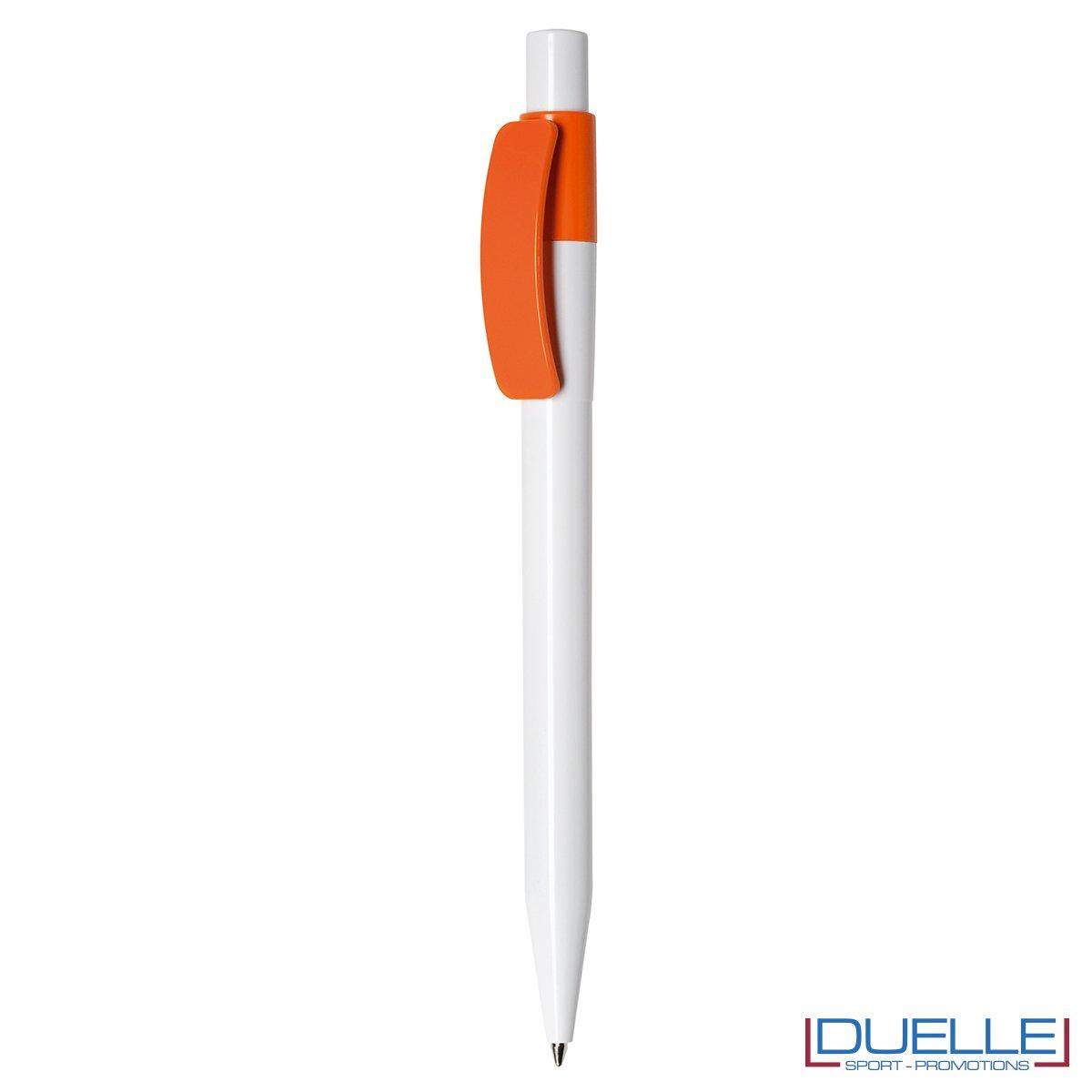 Penna Made in Italy personalizzata Arancione, gadget aziendali, penne personalizzate, gadget personalizzati, articoli promozionali