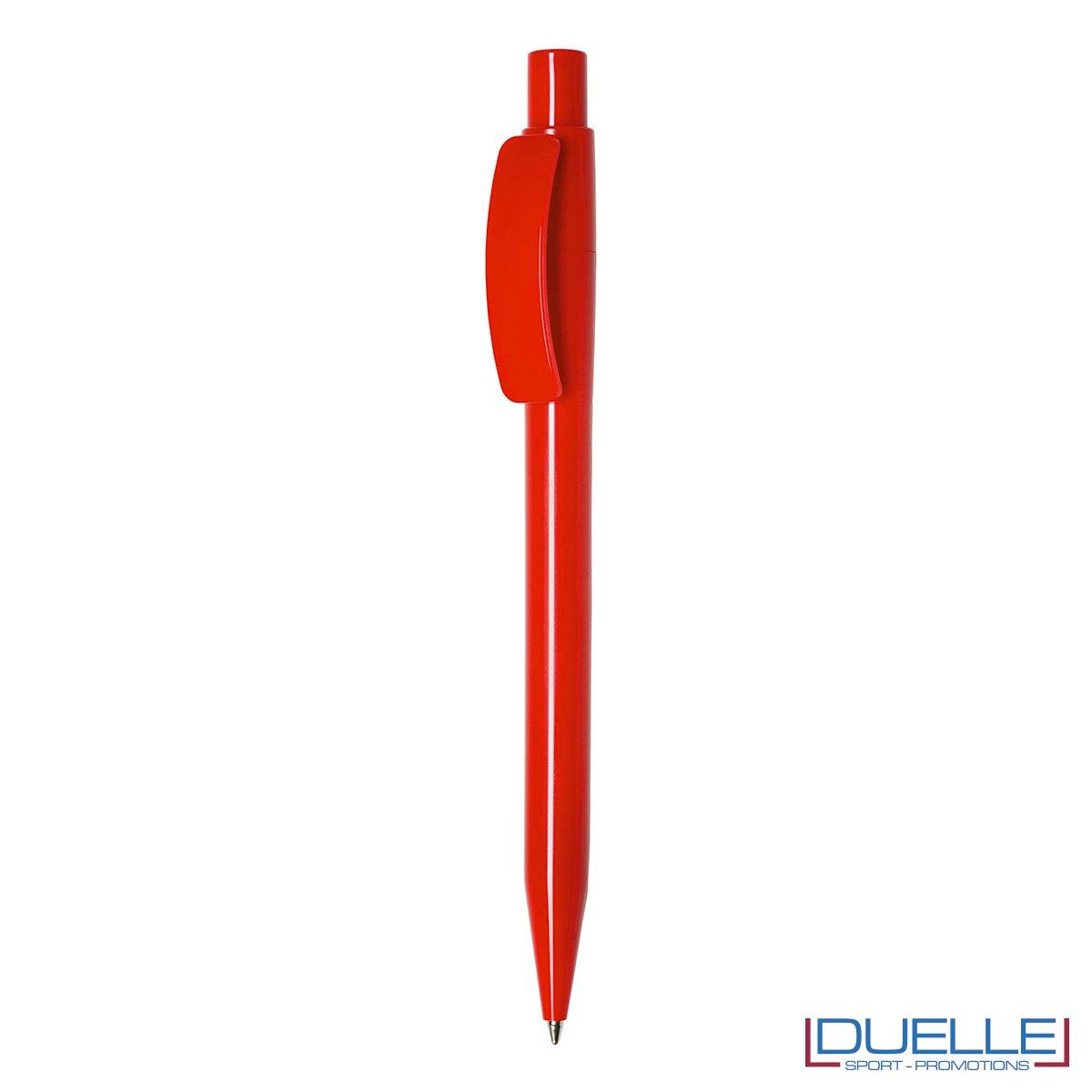 Penna Made in Italy personalizzata fusto rosso, gadget aziendali, penne personalizzate, gadget personalizzati, articoli promozionali