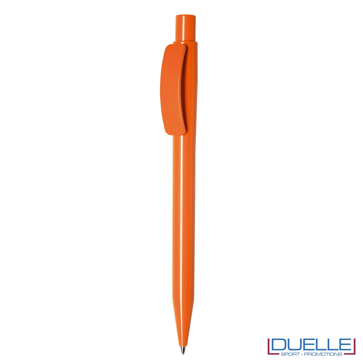 Penna Made in Italy personalizzata fusto arancione, gadget aziendali, penne personalizzate, gadget personalizzati, articoli promozionali