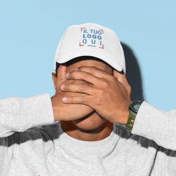 cappellino con logo