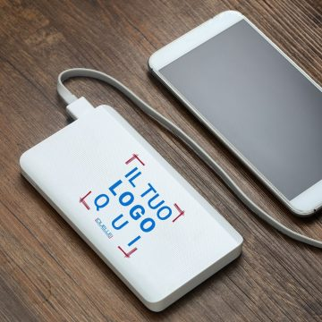 power bank con logo